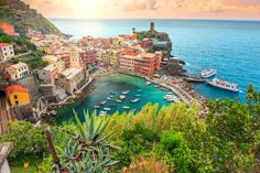 My favorite place in the world is Vernazza, Cinque Terra Italy. There is this flat rock on the bay that is PERFECT for laying on. The water is crystal clear and it's so peaceful I think it might be heaven.—andic42b7a53e5