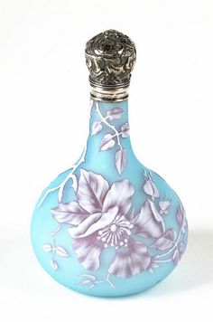 Cameo glass scent bottle