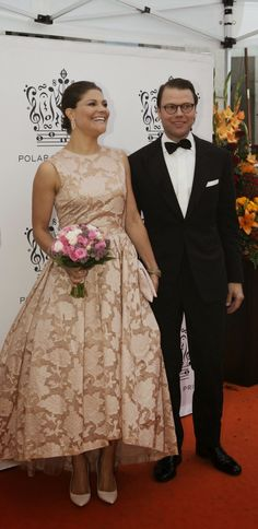 Crown Princess Victoria and Prince Daniel of Sweden attend the Polar Music Prize Aug. 26, 2014