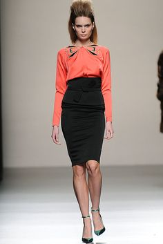 Miguel Palacio - Runaway Mercedes Benz Fashion Week Madrid Fall-Winter 2013/2014