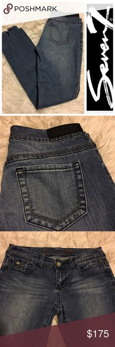 Seven7 Skinny Jeans size 4 • Name brand: Seven7 • Style: Skinny Denim Jeans • Condition:  Great! Worn once!                                                        • Size: 4 • Perfect for summer! Seven7 Jeans Skinny