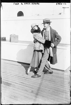 Brother and sister, Fred and Adele Astaire (1920s)
