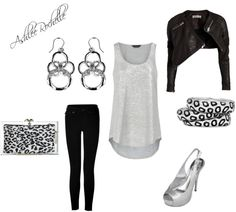 """""""Silvery Night"""" by ashlee470 on Polyvore"""