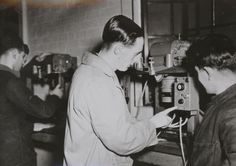 RAF School of Photography at Blackpool in WW2