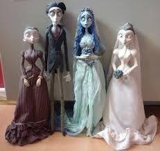 Resultado de imagen para la novia cadaver vestido