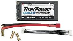 Vehicle Parts 171134: Trakpower Lipo 2S 7.4V 4500Mah 90C Hard Case Battery, 5Mm Short Tkpc0610 -> BUY IT NOW ONLY: $64.99 on eBay!