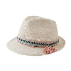 Tocoto Vintage Straw Hat - shopminikin