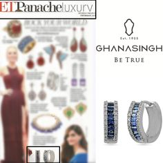 Check out this cool article Diamond Classic Hoops  by #GBTBeTrue ,Bandra featured in #ETPanacheLuxury...