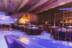Holiday Event at Lyon Air Museum John Wayne/Orange County Airport California - #Event #Venue #Museum #HolidayParty