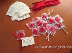 Misha y Momo: Tarjetitas de agradecimiento