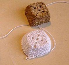 Crochet basket tutorial ❥Teresa Restegui http://www.pinterest.com/teretegui/❥