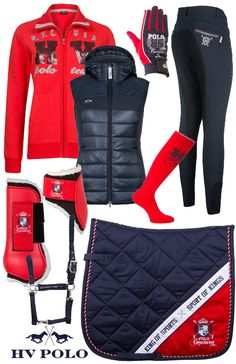 HV Polo Winter Red Chloe - Epplejeck