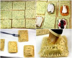 clever use of thanksgiving leftovers: savory pop tarts (herbed pie crust)