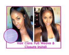 Hair Care  Full Weave and Closure Install [HerHairCompany]