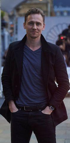 Tom Hiddleston at the San Sebastian International Film Festival on September 21, 2015.