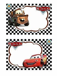 Aiz Disney Cars Party, Disney Cars Birthday, Cars Birthday Parties, Cars Birthday Invitations, Cars Invitation, Leo Birthday, School Labels, Car Themes, Batman Party