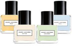Marc Jacobs Splash Collection Fragrances: Cotton, Cucumber, Pear, Rain