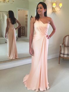 Prom Dress For Cheap, Bridesmaid Dresses Prom Dress Long, Simple Bridesmaid Dresses Bridesmaid Dresses 2018 Open Back Prom Dresses, Pink Prom Dresses, A Line Prom Dresses, Cheap Prom Dresses, Dress Prom, Wedding Dresses, Dress Long, Prom Gowns, Dress Formal