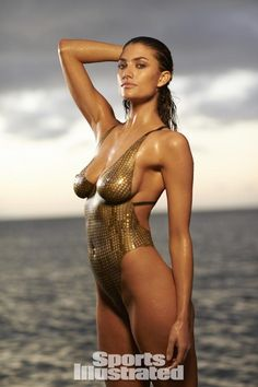 Lauren Mellor 2014 Swimsuit: Body Paint - Swimsuit 2014 - SI.com