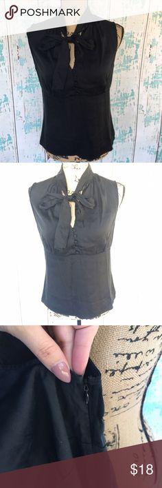 Antonio Melani black silk top size 8 Antonio Melani black silk top size 8 ANTONIO MELANI Tops Blouses