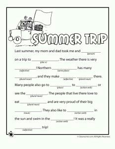Summer Word Search Worksheets.Keeping my children busy