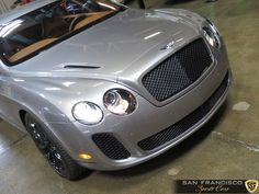 2010 Bentley Continental Supersports grey with brown and black interior
