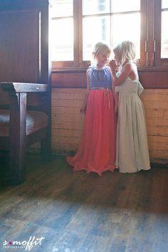 Floor-Length Dress | 41 Flower Girl Dresses That Are Better Than Grown-Up People Dresses