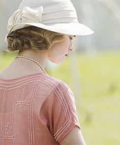 Lily James as Lady Rose in 'Downton Abbey'