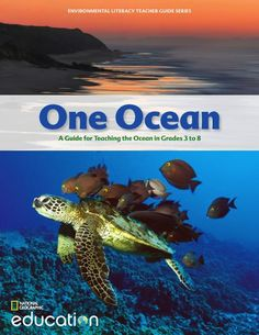 One Ocean is an environmental literacy guide that includes topics with real-world context and background information, designed to support educators when teaching about the ocean.