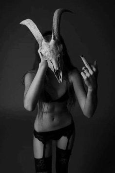 I always liked the idea of not being what people expected it to be. Comme Des Freres, I Salute You, Highway To Hell, Flock Of Birds, Hades And Persephone, Dark Pictures, Metal Girl, Dark Photography, Dark Beauty