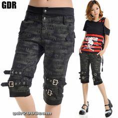 Punk Visual Kei Slim Look Knee Mummy 71235 Pants Size s XL | eBay