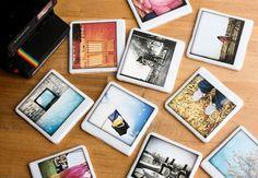 Tutorial para hacer posavasos con tus fotos al estilo polaroid #posavasos #hechoamano #pasoapaso #tutorial #diy