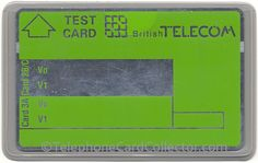 Test Card without any printed numbers/values Number Value, Gyr, Test Card, Competition, Numbers, British, Printed, Cards, Maps