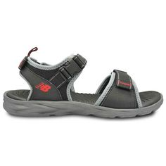 b9e6aaede79 New Balance Response Sandals for Men in Wide - Black   Grey