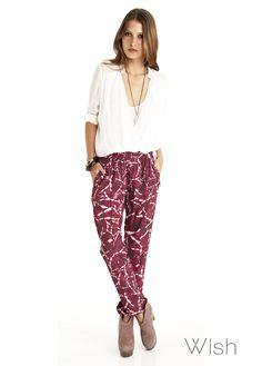 Wish Fortuity Pants  www.shop.wish.com.au