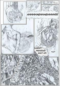 GaLe My Idiot Dragon - My Blue Fairy Chap8 Pg17 by Inubaki.deviantart.com on @DeviantArt