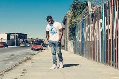 Kanye West For President T-Shirt – Blue on White