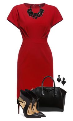Classic by justjules2332 on Polyvore featuring polyvore, fashion, style, Christian Louboutin, Givenchy, Tasha and clothing