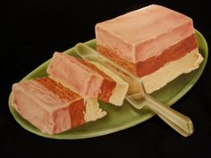 ... see more 2 pistachio brittle cheesecake dessertness epicurious com