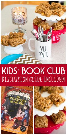 How to host a kids' book club using The Incorrigible Children of Ashton Place series. Grab the totally fun kid-friendly discussion questions and use them with friends at a party OR start your own family book club and chat over dinner together. Book Club Food, Kids Book Club, Best Books List, Good Books, Book Lists, Book Club Suggestions, Book Recommendations, Easy Meals For Kids, Kids Meals