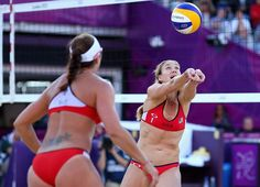 This three-time world champion is married to fellow player Casey Jennings (and a mother of three), the USA's Kerri Walsh Jennings has never lost a game at the Olympics – winning gold at Athens 2004, Beijing 2008 and London 2012 with Misty May.