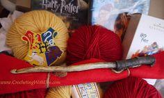 Harry Potter crochet hook! Gotta get me oneof those!
