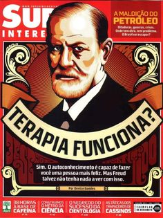 """""""Does therapy works? Yeap. Self-knowledge is able to make you a happier person. But Freud may not have anything to do with it."""" Jul/08"""