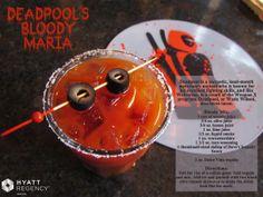 Deadpool's Bloody Maria - Austin #ComicCon cocktail special at Hyatt Regency Austin