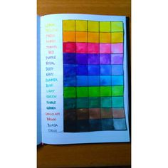 Types of colours  #colorful #craft # painting #yellow #orange #red #purple #blue #purple #green #brown #black #colours #rainbow