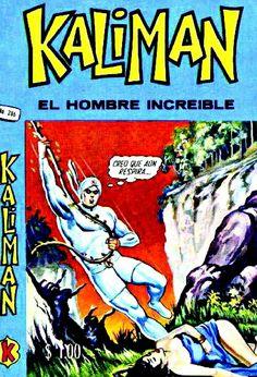 KALIMÁN... El Hombre Increíble... Alternative Comics, Comic Covers, Caricatures, Comic Character, Nostalgia, Comic Books, Nude, Retro, Toys