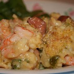 Shrimp Casserole - it's what's for dinner
