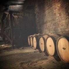 Redland Estate Distillery · Tasmania  Heritage Oast house made bond store. Shhh #whisky barrels sleeping...
