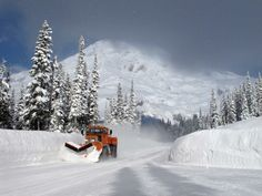 Oshkosh Snow plow Dump Trucks, Lifted Trucks, Snow Machine, Snow Plow, Heavy Equipment, Winter White, Rigs, Farming, Winter Wonderland