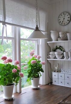 Country Cottage Style kitchen window